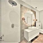 Łazienka Hotelowa projekt i aranżacja - Wnętrza Toruń Ciechocienk Chełmno