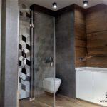 13 - projekt i aranżacja łazienki mozajka - Wnętrza Toruń Chełmno Ciechocinek