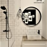 18 - projekt łazienki w stylu skandynawskim - Wnętrza Toruń Chełmno Ciechocinek