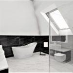 23 - projekt dużej lazienki w domu - Wnętrza Toruń Chełmno Ciechocinek