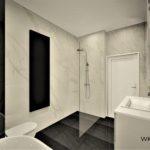 48 - projekt i aranżcja łazienki - Wnętrza Toruń Ciechocinek Chełmno