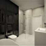 49 - aranżacja łazienki i projekt z kamieniem naturalnym - Wnętrza Toruń Ciechocinek Chełmno