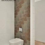 Aranżacj ai projekt łazienekw hotelu - Wnętrza Toruń Ciechocinek Chełmno