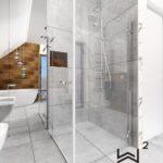 65 - aranżacja i projektowanie łazienki glamour - Wnętrza Toruń Ciechocinek Chełmno