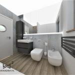 66 - aranżacja łazienki i projekt wnętrz - Wnętrza Toruń Ciechocinek Chełmno