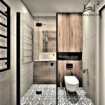 71 - aranżacja łazienki i projekt kompleksowy - Wnętrza Toruń Ciechocinek Chełmno