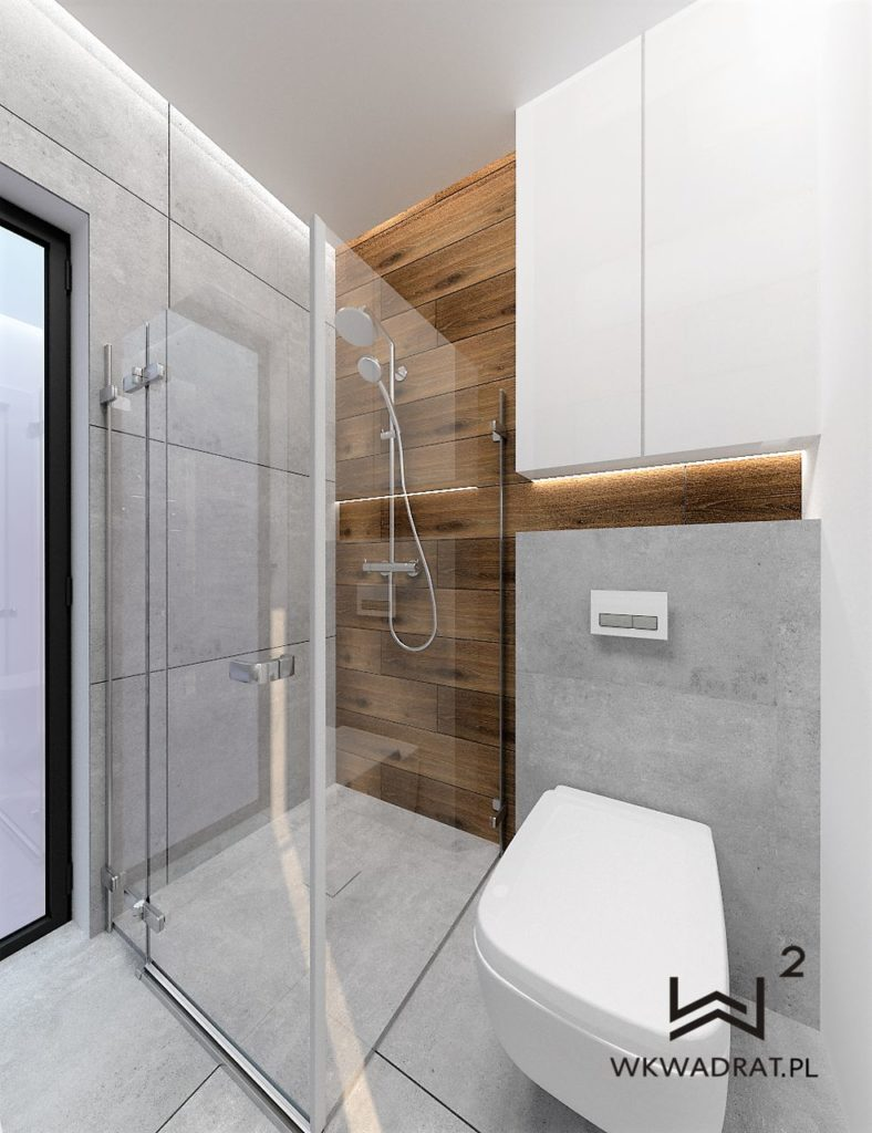 75 - łazienka glamour projekt i aranżacja - Wnętrza Toruń Ciechocinek Chełmno