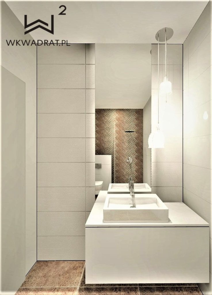 projekt łazienki hotelowej - Wnętrza Toruń Ciechocinek Chełmno