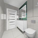 95 - projekt i realizacja łazienki - Wnętrza Toruń Ciechocinek Chełmno